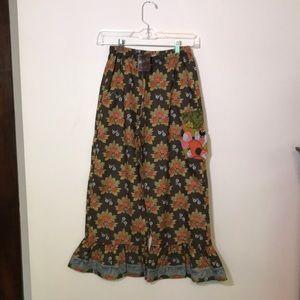 Matilda Jane Girls size 12 Ruffle Pants